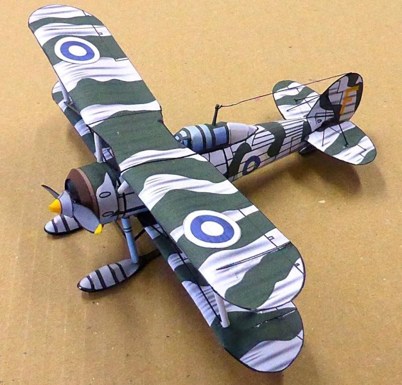 [PaperCraft] mes avions en carton échelle 1/60 Paperc21