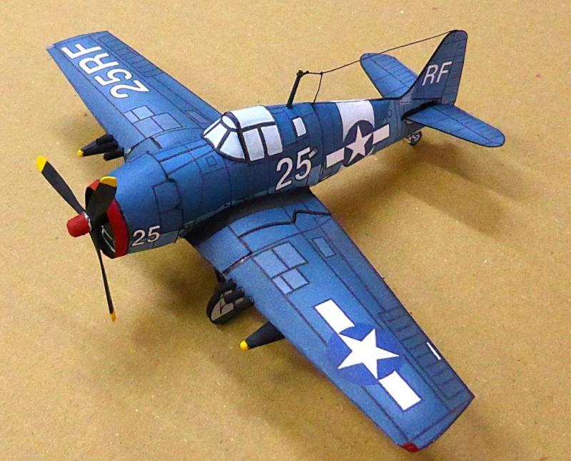 [PaperCraft] mes avions en carton échelle 1/60 Paperc23