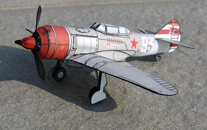[PaperCraft] mes avions en carton échelle 1/60 Paperc30