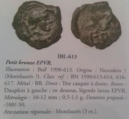 Bronze des Nédènes de l'oppidum de Montlaures (Languedoc) Picsar25