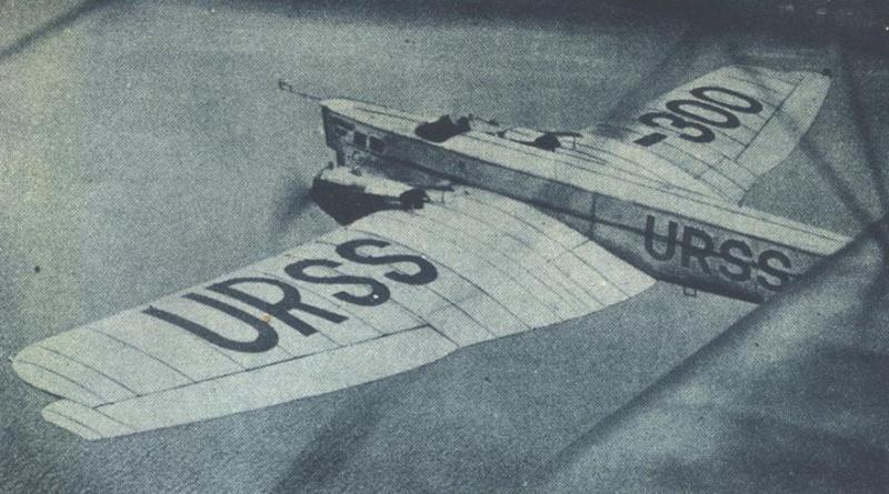 Tupolev TB-1 ( Ant 4) Tupole10