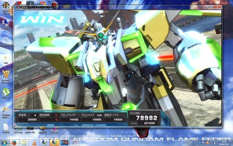 Gundam Extreme Versus PS3 On PC (Not Emulator) !!!!! 110