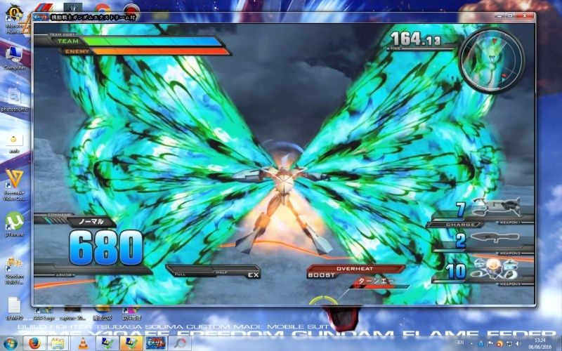Gundam Extreme Versus PS3 On PC (Not Emulator) !!!!! 510