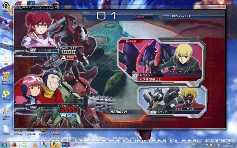 Gundam Extreme Versus PS3 On PC (Not Emulator) !!!!! 610