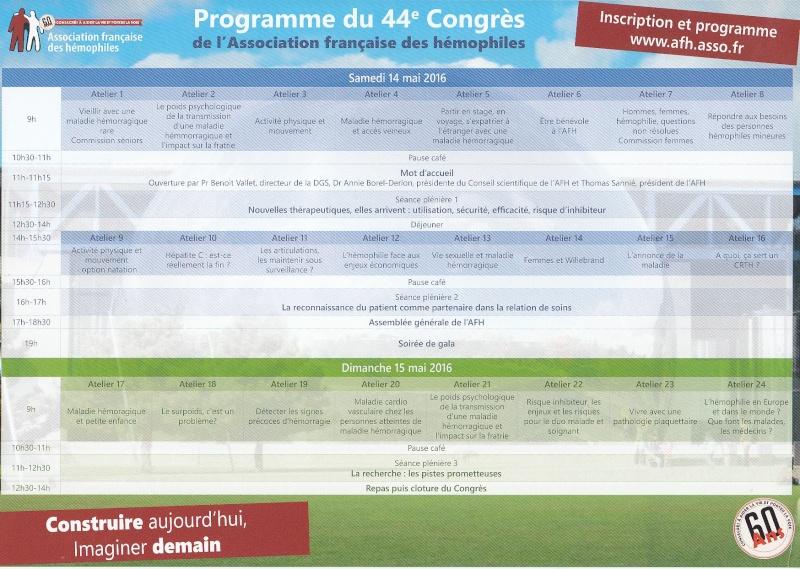 44ème Congré National de l'A.F.H. Prog_411