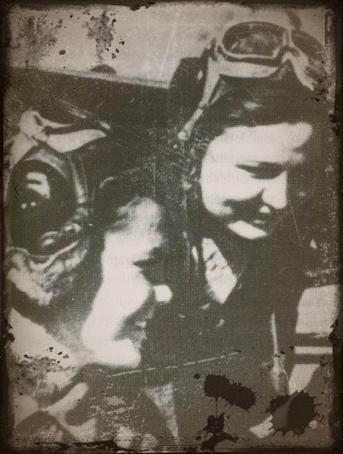 "Petit clin d'oeil a notre ami joukov ""ses femmes de l'ombre"" Pilote19"