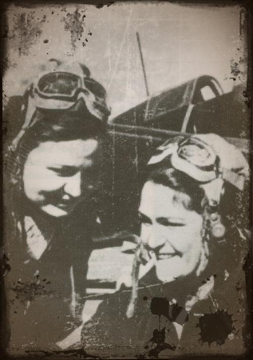 "Petit clin d'oeil a notre ami joukov ""ses femmes de l'ombre"" Pilote22"