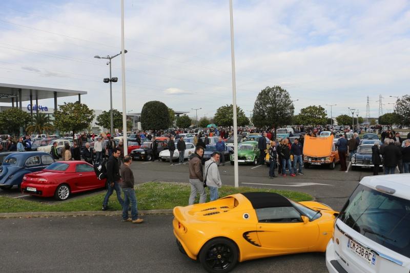 W126 présentes au rassemblement informel du premier dimanche de chaque mois à Pau-Lescar 2016-029
