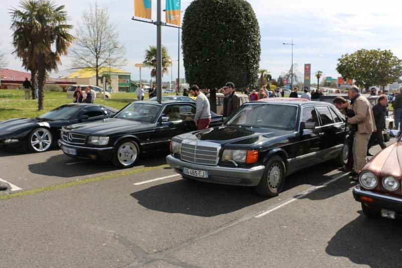 W126 présentes au rassemblement informel du premier dimanche de chaque mois à Pau-Lescar 2016-031