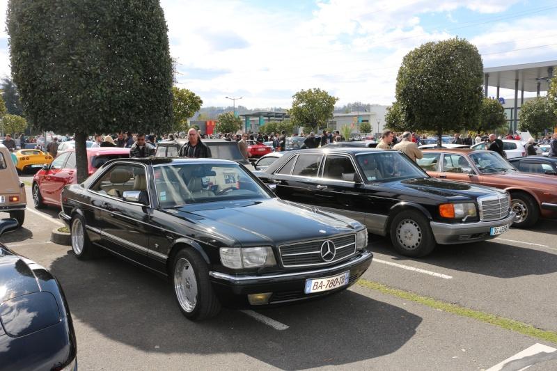 W126 présentes au rassemblement informel du premier dimanche de chaque mois à Pau-Lescar 2016-032