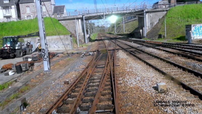 """""""tro breiz ferroviaire """" Rennes/St Brieuc/Dol/Rennes (3- De  Lamballe à Dinan) 20160288"""