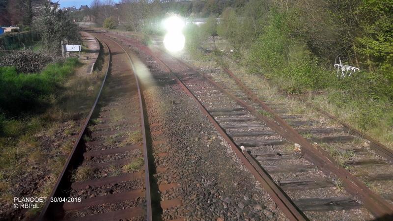 """""""tro breiz ferroviaire """" Rennes/St Brieuc/Dol/Rennes (3- De  Lamballe à Dinan) 20160295"""