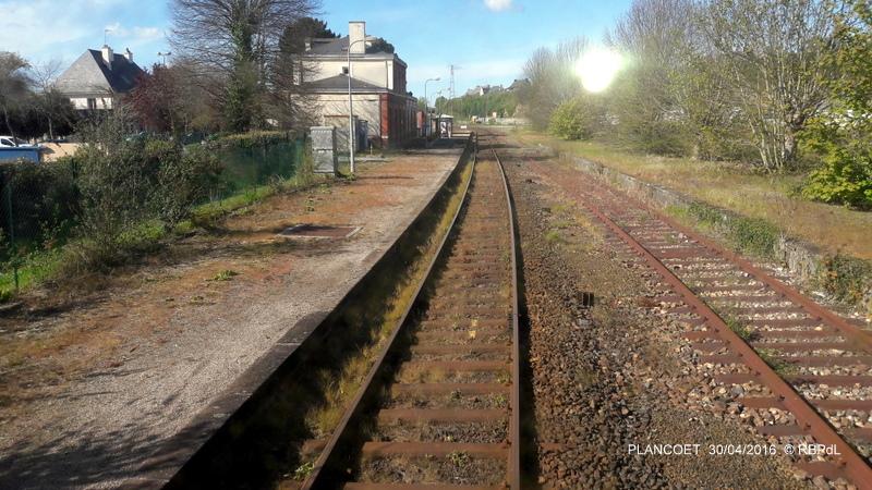 """""""tro breiz ferroviaire """" Rennes/St Brieuc/Dol/Rennes (3- De  Lamballe à Dinan) 20160296"""