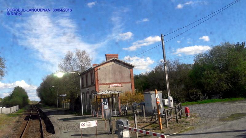 """""""tro breiz ferroviaire """" Rennes/St Brieuc/Dol/Rennes (3- De  Lamballe à Dinan) 20160303"""