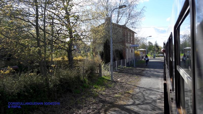 """""""tro breiz ferroviaire """" Rennes/St Brieuc/Dol/Rennes (3- De  Lamballe à Dinan) 20160304"""