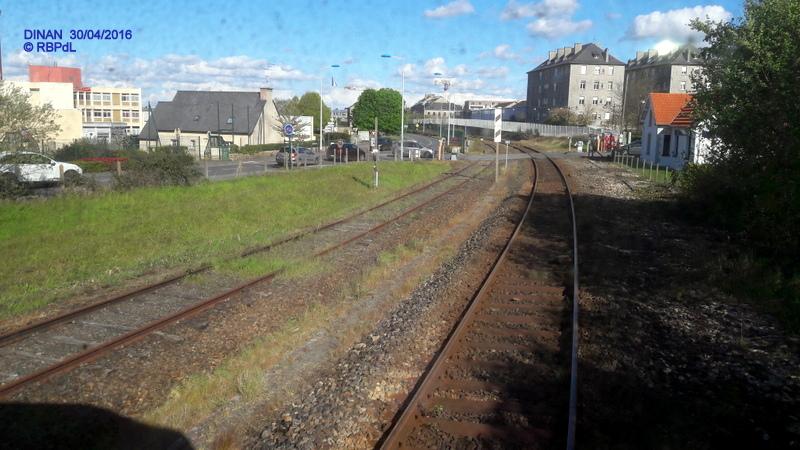 """""""tro breiz ferroviaire """" Rennes/St Brieuc/Dol/Rennes (3- De  Lamballe à Dinan) 20160307"""