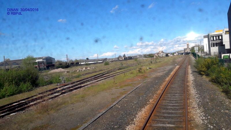 """""""tro breiz ferroviaire """" Rennes/St Brieuc/Dol/Rennes (3- De  Lamballe à Dinan) 20160318"""