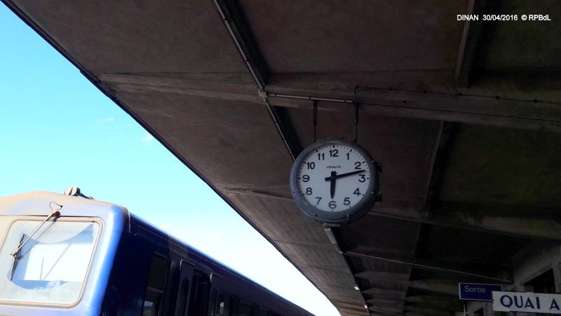 """""""tro breiz ferroviaire """" Rennes/St Brieuc/Lamballe/Dol/Rennes (4- Dinan) 20160325"""