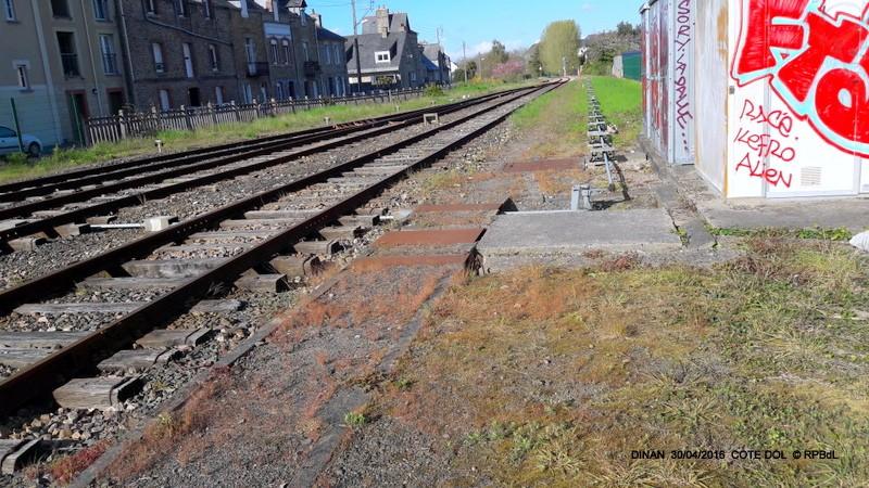 """""""tro breiz ferroviaire """" Rennes/St Brieuc/Lamballe/Dol/Rennes (4- Dinan) 20160326"""