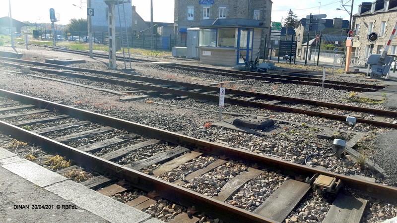 """""""tro breiz ferroviaire """" Rennes/St Brieuc/Lamballe/Dol/Rennes (4- Dinan) 20160327"""
