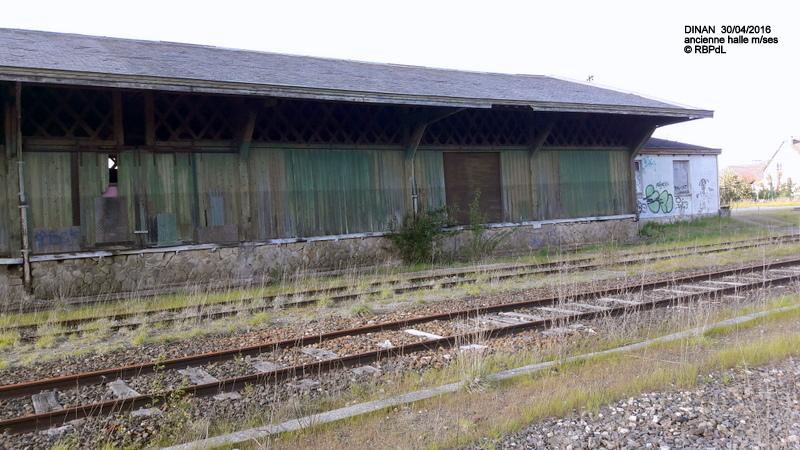 """""""tro breiz ferroviaire """" Rennes/St Brieuc/Lamballe/Dol/Rennes (4- Dinan) 20160340"""