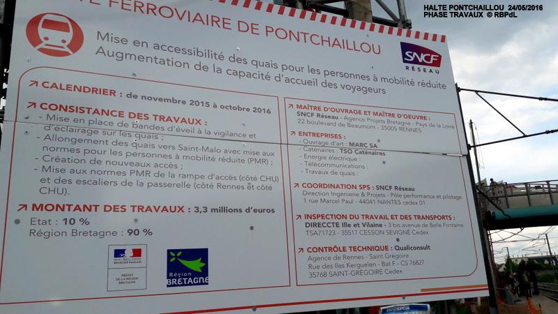 Halte de Pontchaillou, suite phase travaux - mai 2016 20160371
