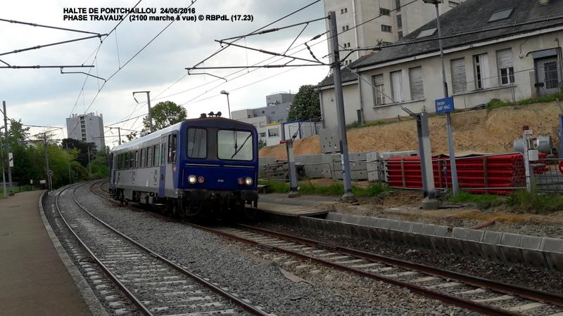 Halte de Pontchaillou, suite phase travaux - mai 2016 20160374