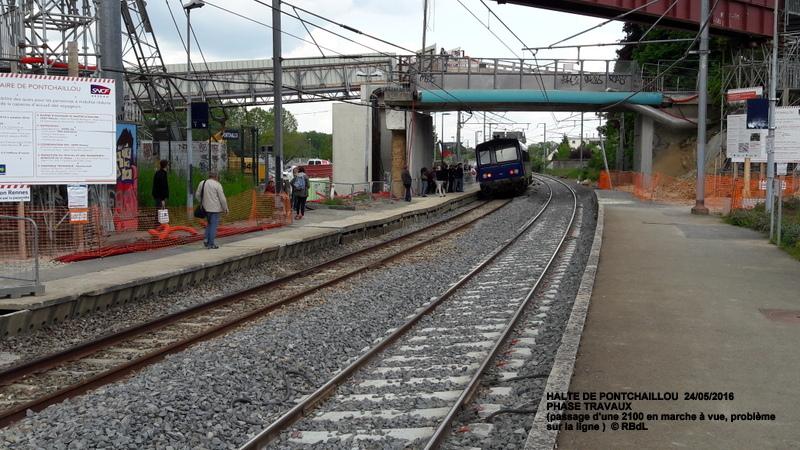 Halte de Pontchaillou, suite phase travaux - mai 2016 20160375