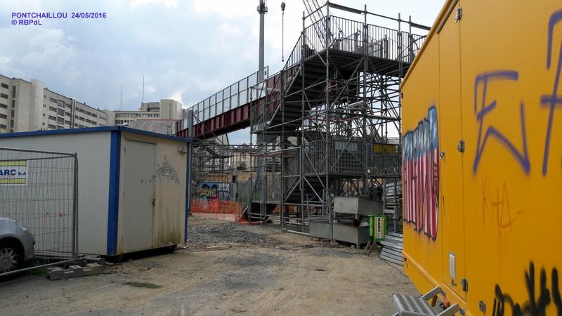 Halte de Pontchaillou, suite phase travaux - mai 2016 20160580