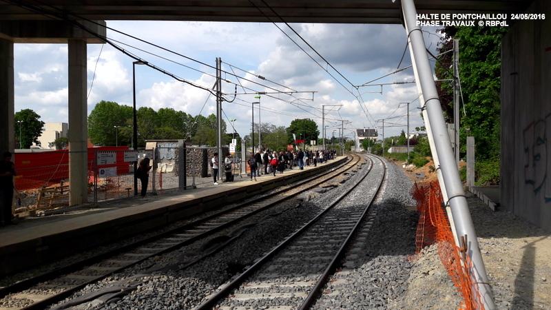 Halte de Pontchaillou, suite phase travaux - mai 2016 20160583