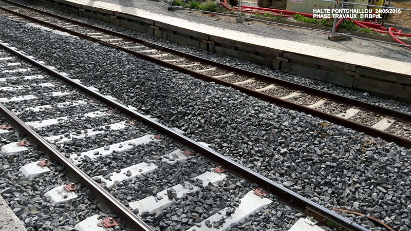 Halte de Pontchaillou, suite phase travaux - mai 2016 20160584