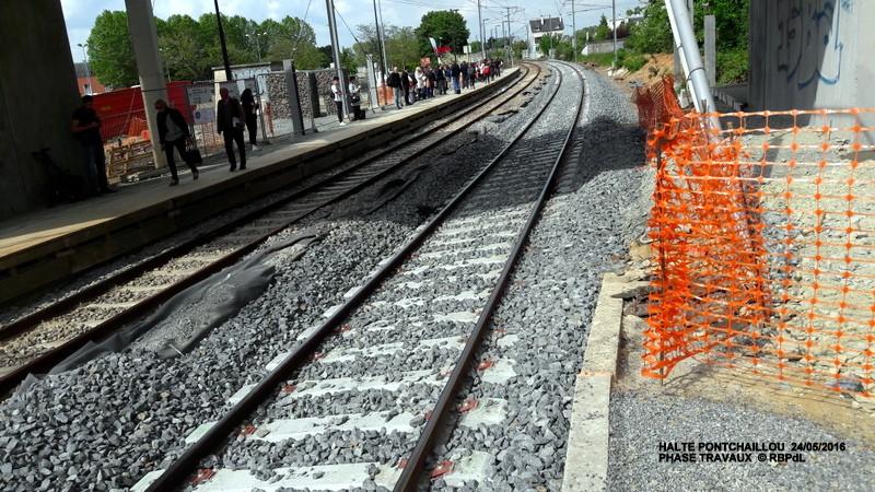 Halte de Pontchaillou, suite phase travaux - mai 2016 20160585