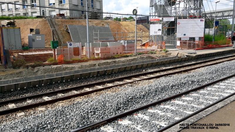 Halte de Pontchaillou, suite phase travaux - mai 2016 20160587
