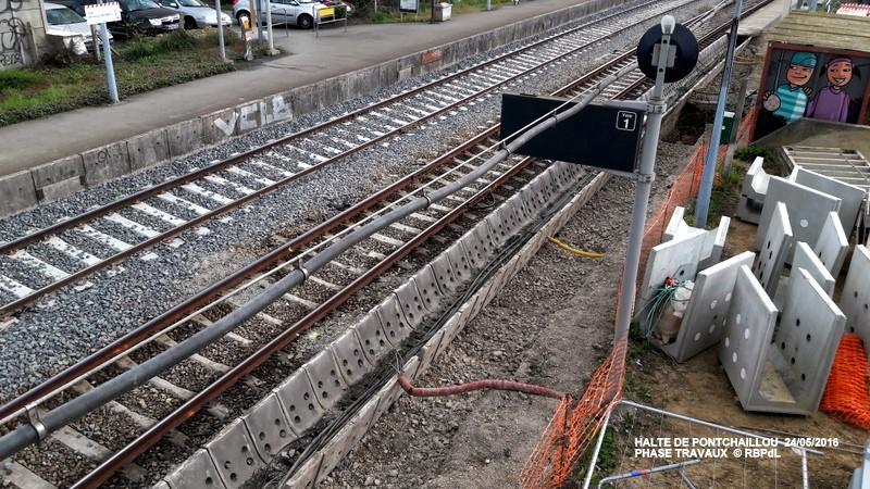 Halte de Pontchaillou, suite phase travaux - mai 2016 20160594
