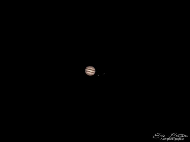 Tache solaire en forme de cœur suite + la lune et Jupiter..  Captur10