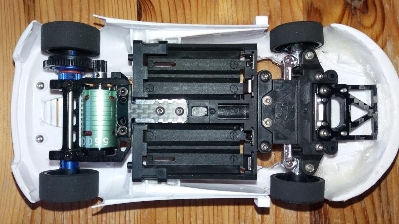 Compatibilité carro MAC LAREN 12C GT3 2013 et châssis PNR2.5W 20160510