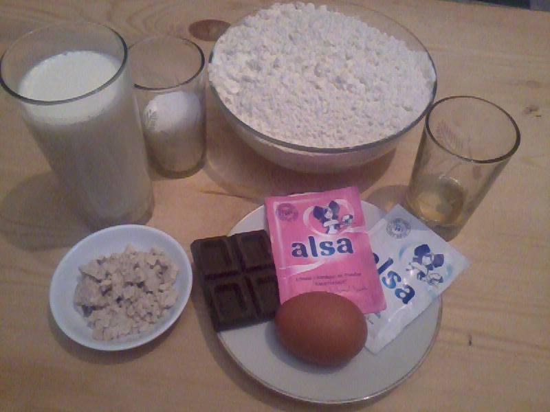 طريقة عمل كرواصو لقهوة الصباح مشاركتي في مسابقة احسن طبق من ايدك 12919110