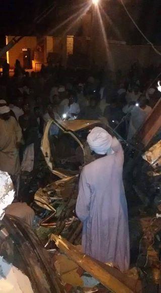عاجل مقتل 8 أشخاص وإصابة 9 آخرين في حادث اصطدام قطار بسيارة فى اسوان 12920210