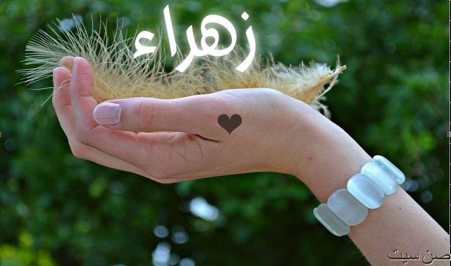 اسم زهراء في صورة  Downlo23