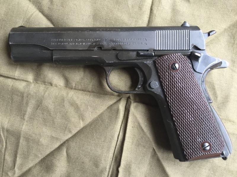 Colt 1911 A1 1943 - identification d'un marquage 06110
