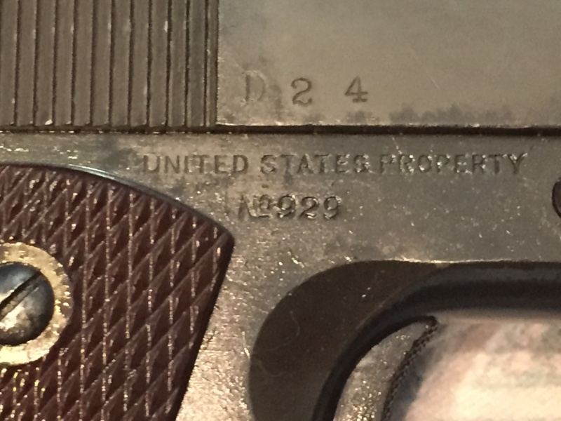 Colt 1911 A1 1943 - identification d'un marquage - Page 2 Image21