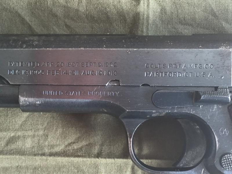 Colt 1911 de 1918 Image68