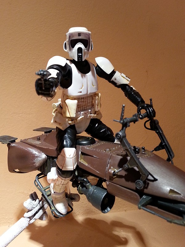 Speeder Bike Bandai 1/12 - Page 2 20160426