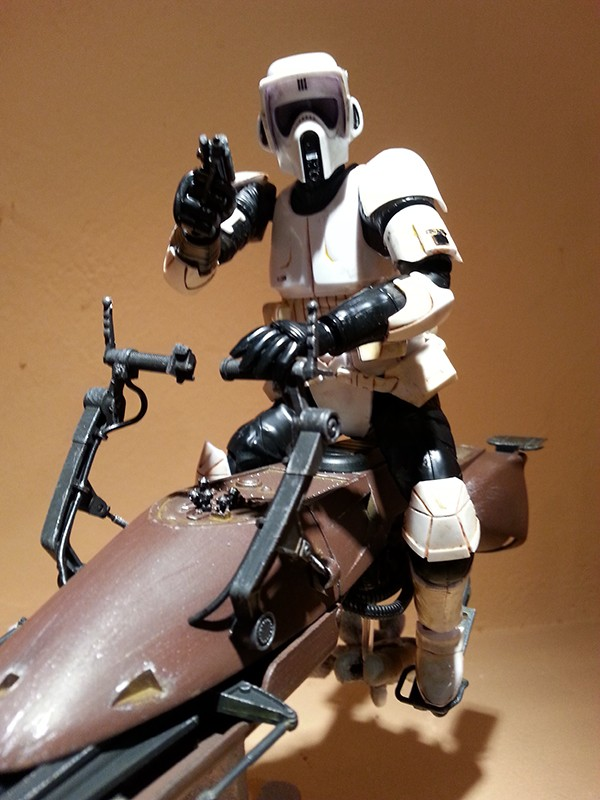 Speeder Bike Bandai 1/12 - Page 2 20160427