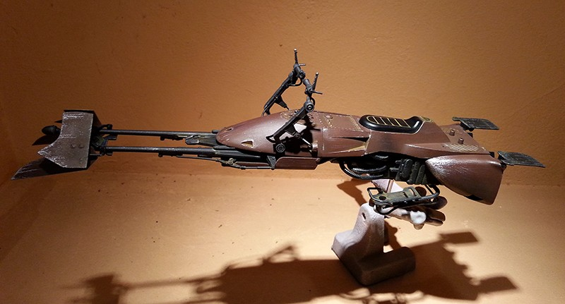 Speeder Bike Bandai 1/12 - Page 2 20160429