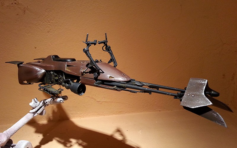 Speeder Bike Bandai 1/12 - Page 2 20160431