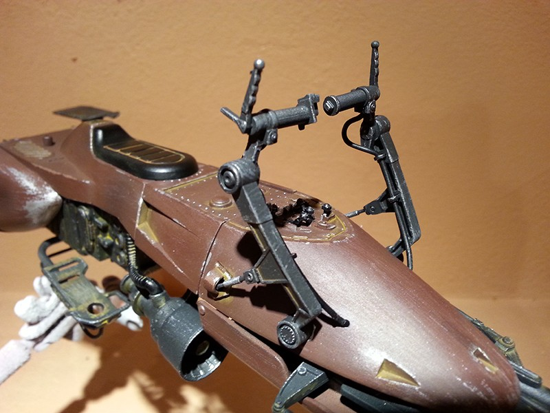 Speeder Bike Bandai 1/12 - Page 2 20160433
