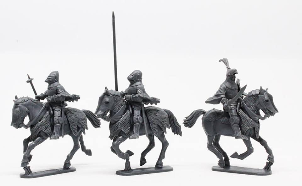 Figurine Perry Miniatures plastique XIVe - XVe siècles 48359710
