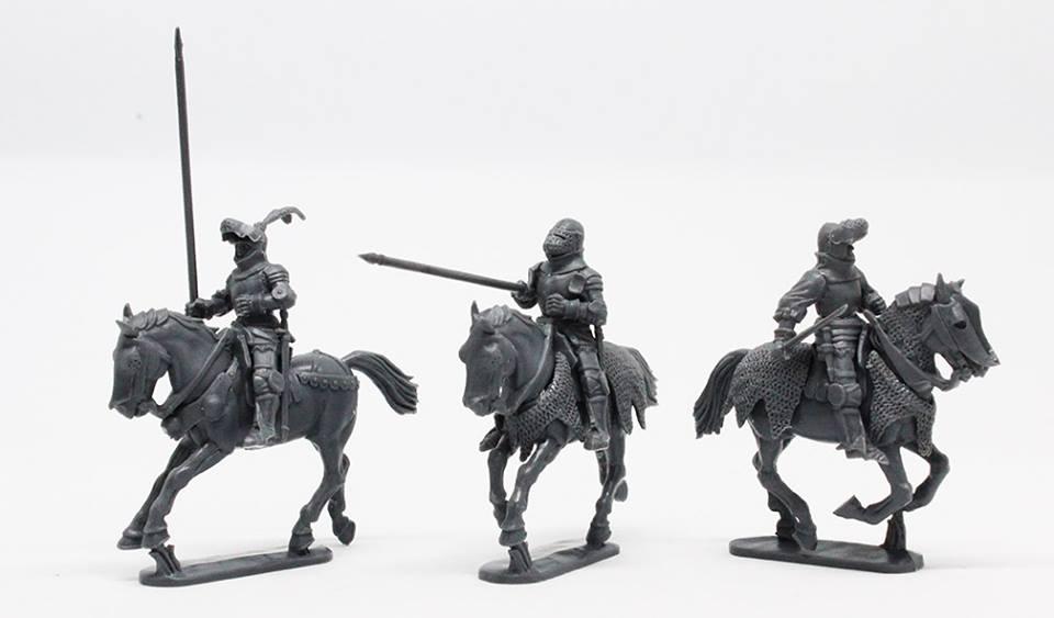 Figurine Perry Miniatures plastique XIVe - XVe siècles 48360811