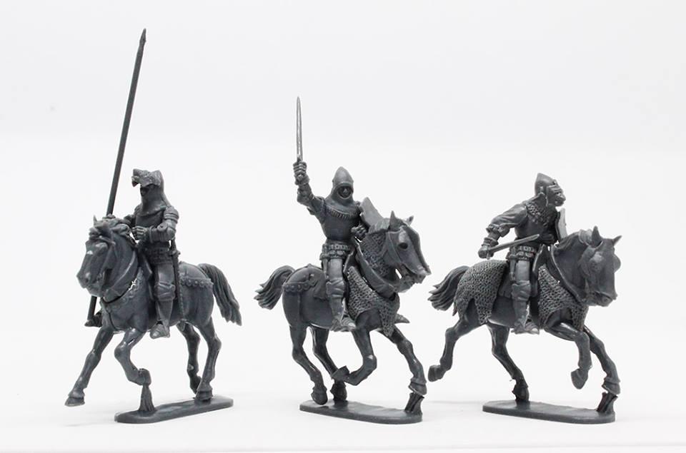 Figurine Perry Miniatures plastique XIVe - XVe siècles 48377410